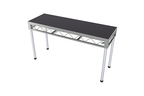 DJ Table 1800x600 Incl. 900mm Stage Legs