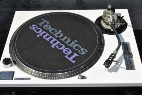 Technics SL1200 Mk2 Turntable White (Stylus not included)