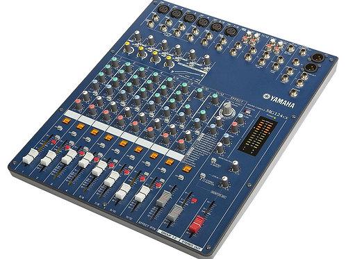 Yamaha MG124CX Analog 6Ch Mixing Console