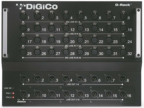 Digico D-Rack 16/32 Digital Stage Box
