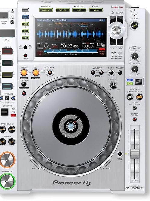 Pioneer CDJ 2000 Nexus CD Multi-Player White