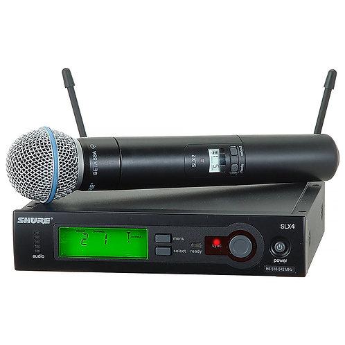Shure SLX Wireless System Incl. Beta58 Handheld