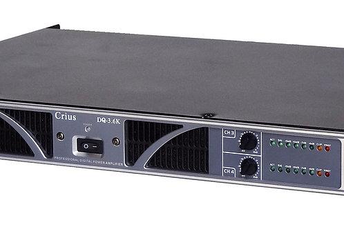 Crius Technologies DQ-3.6K 4Ch Amplifier