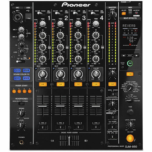Pioneer DJM 850 4ch DJ Mixer