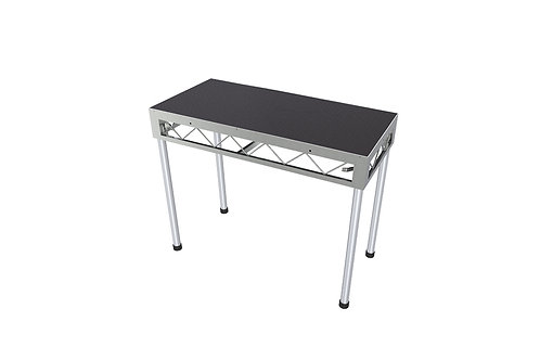 DJ Table 1200x600 Incl. 900mm Stage Legs