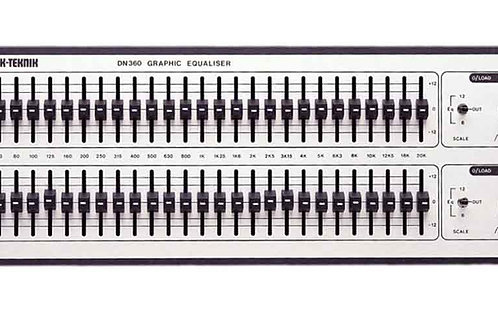 Klark Teknik DN360 Dual 31 Band Graphic EQ