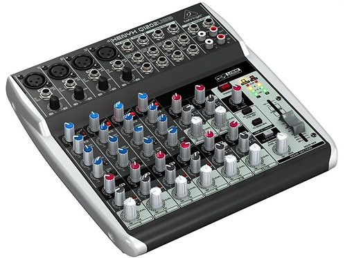 Behringer Xenyx Q1202 Analog 6Ch Mixing Console