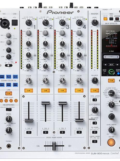 Pioneer DJM 900 Nexus 4ch DJ Mixer White