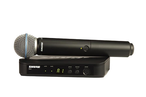 Shure BLX Wireless System Incl. Beta58 Handheld