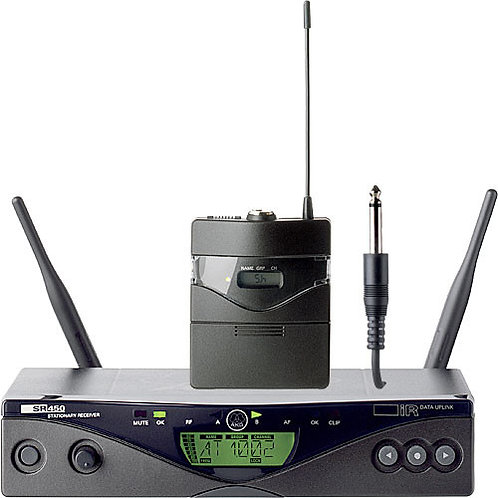 AKG WMS 450 Wireless System Incl. Guitar Pack