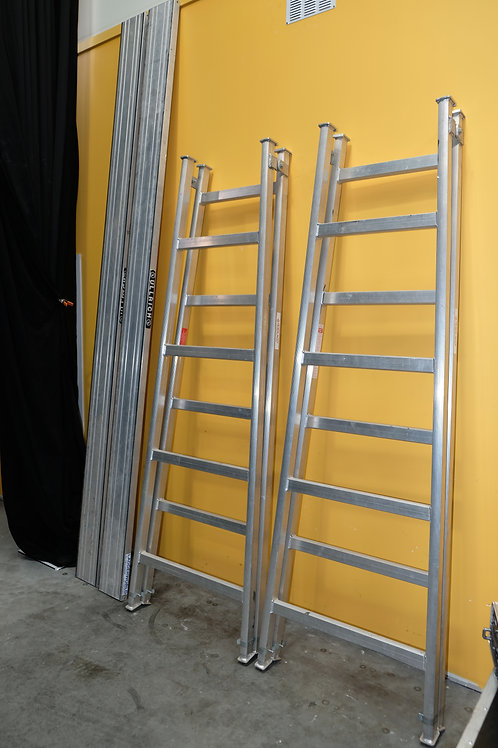 Ullrich Trestle Ladder System With Pair of 3m Aluminium Planks