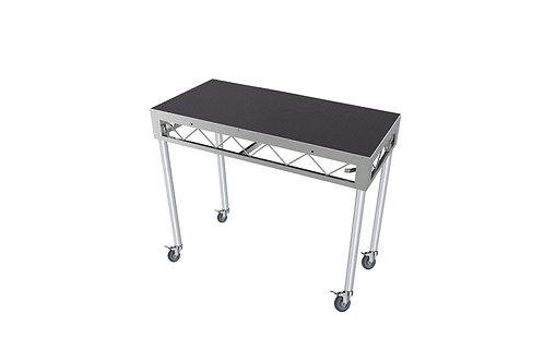 DJ Table 1200x600 Incl. 900mm Rolling Castors