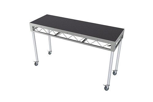DJ Table 1800x600 Incl. 900mm Rolling Castors