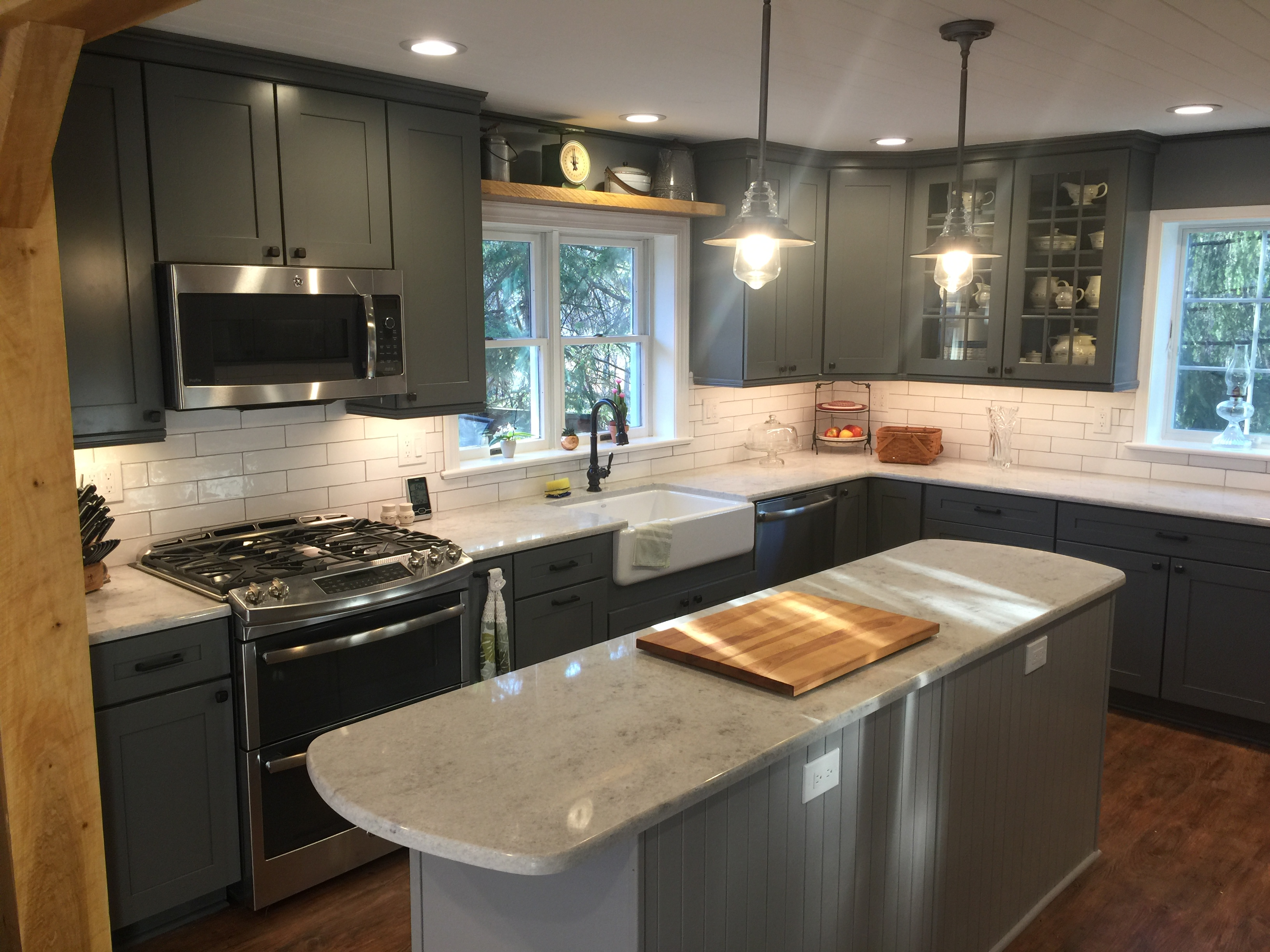 Kitchen Relocation and Remodel