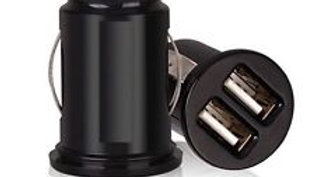 dual twin 2 port universal car cigarette lighter charger USB 12 V adapter 2.1A