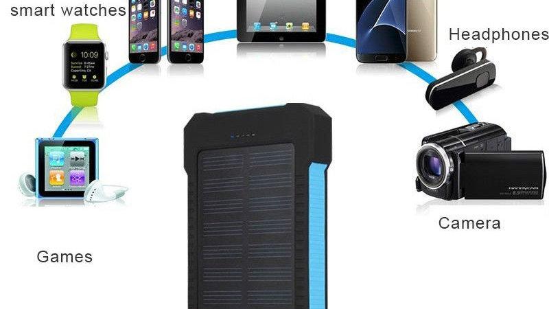 Solar Power Bank 2 usb charger 500000mAh