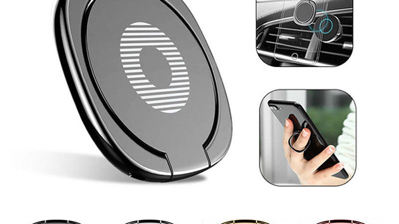 iRing Phone Ring Finger Holder Car Mount Hook iPhone Stand Mobile Grip GPS iPad