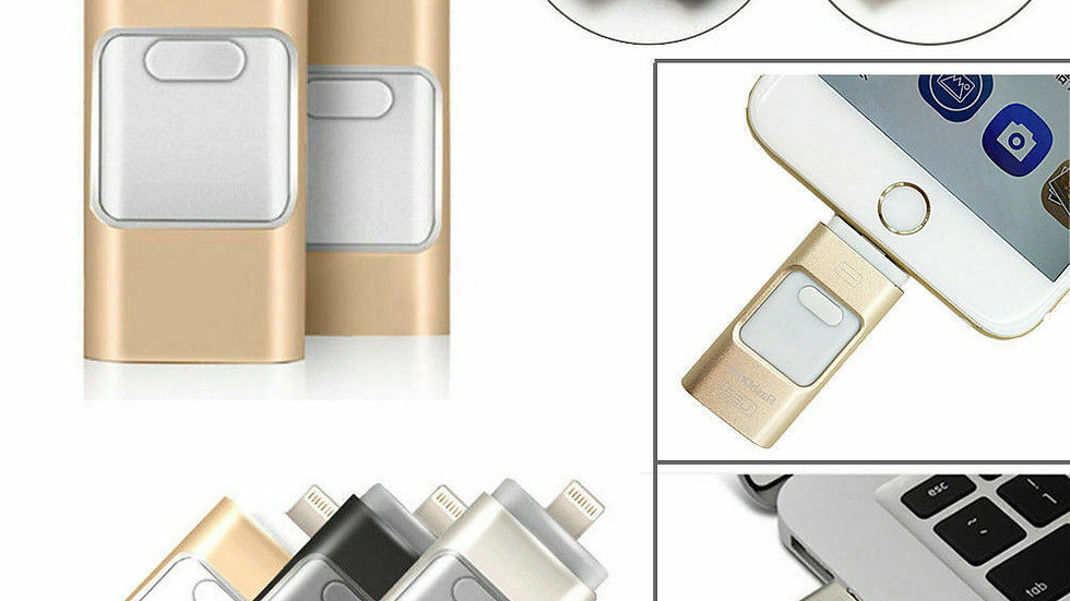 The Best USB i Memory Stick For iPhone iPad  256GB