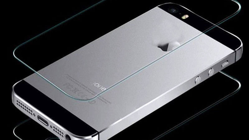Tempered Glass Screen Protector for Apple iPhone 5S, & 5 Front and Back