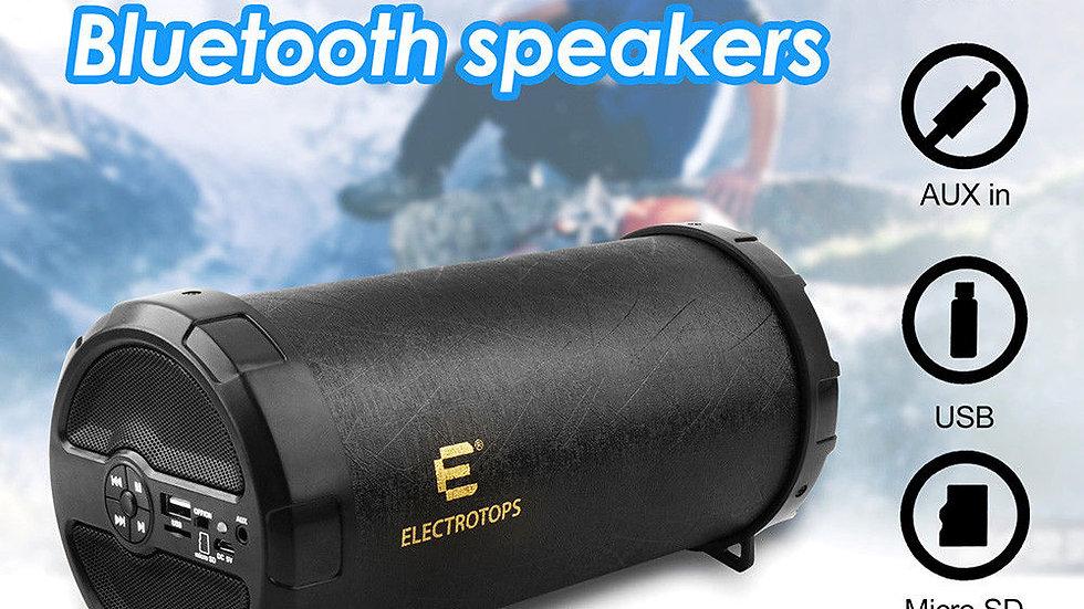 Bluetooth Speaker Loud Hi-Fi Super Bass Portable Speaker With AUX/FM/TF