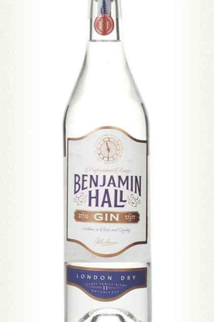 Benjamin Hall London Dry Gin - 70cl - 37.5%