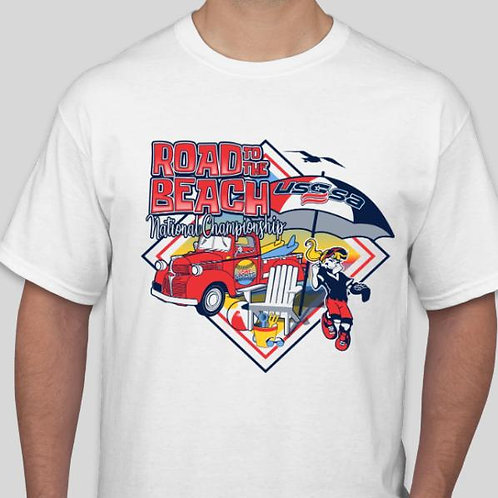 Road to the Beach National T-Shirt
