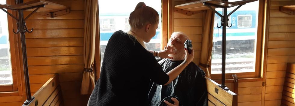 Actor Iztok make up