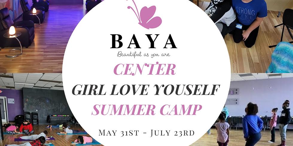 Girl Love Yourself Summer Camp