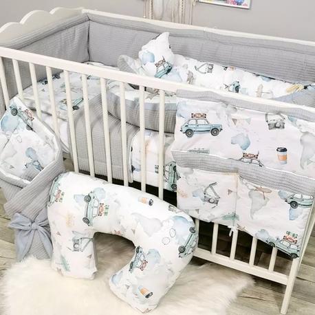Pościel dziecięca do łóżeczka dla chłopca