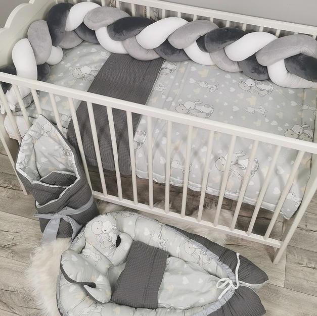 Personalizowana pościel dla niemowlaka.j