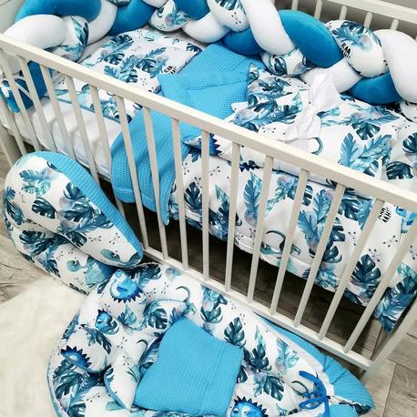 Pościel do łóżeczka dla dziecka Dino