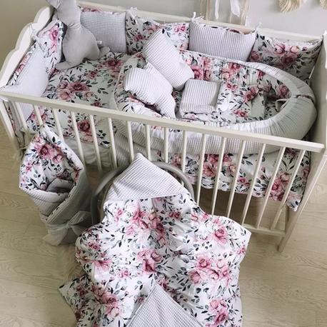 Pościel dla niemowlaka do łóżeczka - otulacz