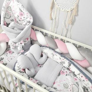 Zestawy pościeli do łóżeczka dla niemowl