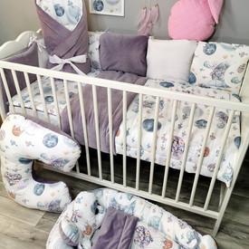 Pościel dla niemowlaka do łóżeczka