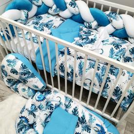 Zestaw do łóżeczka dla chłopca