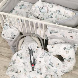 Auta - pościel dla niemowlaka