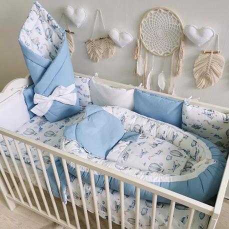 Zestaw do łóżeczka dla noworodka - balony