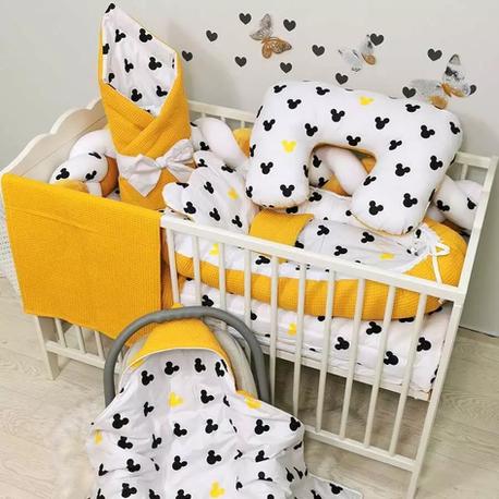 Pościel do łóżeczka dla dziecka Miki