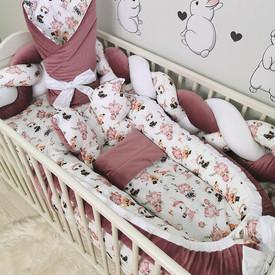 Pościel dla niemowlaka Balony-króliki.jp