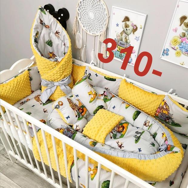 wyprawka dla niemowlaka do łóżeczka