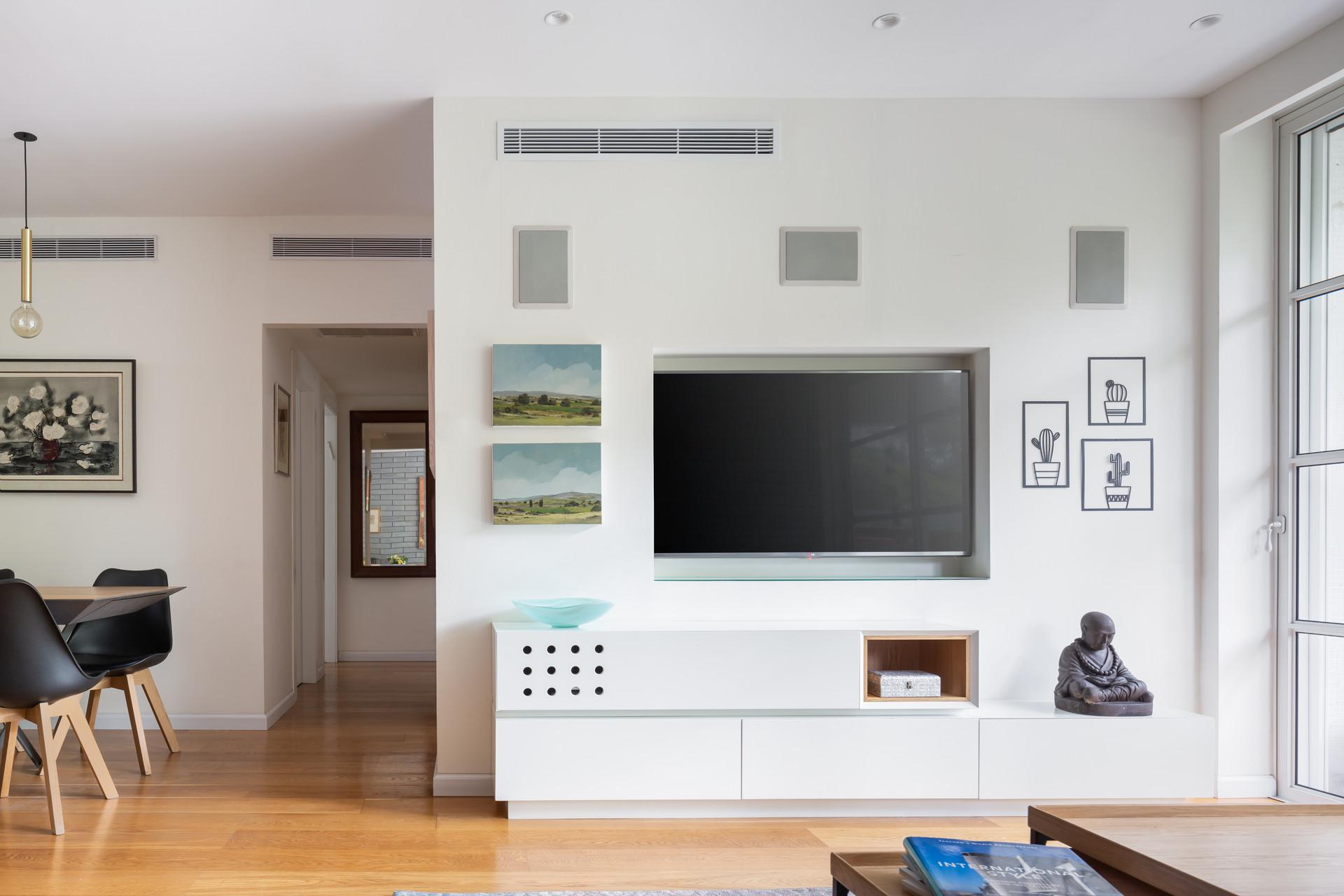 קיר הטלוויזיה