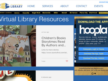 Library Welcomes Patrons to Virtual Library Resources