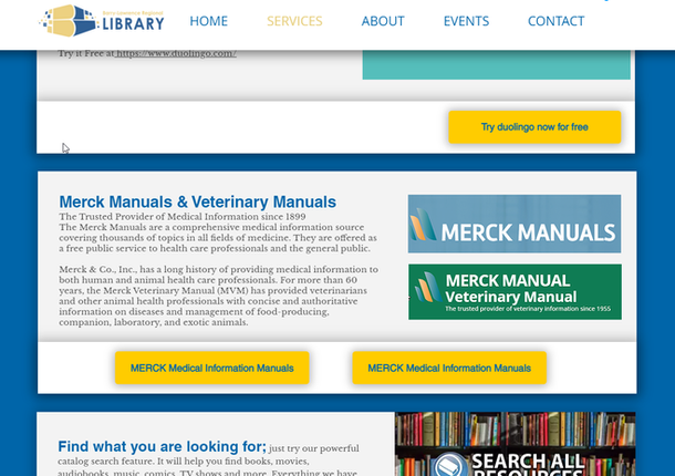 Library Adds Medical & Veterinary Info At Your Fingertips