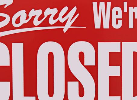 Marionaville Branch Closed