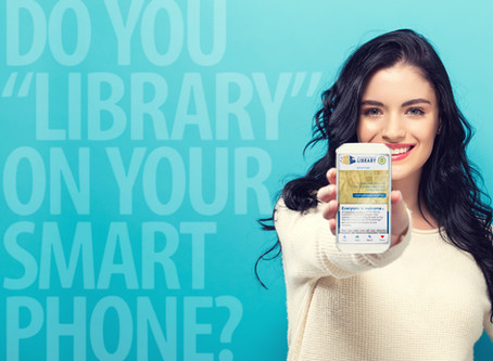 "DO YOU ""LIBRARY"" ON YOUR SMARTPHONE?"