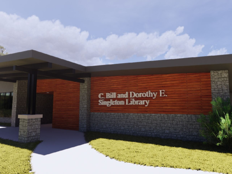 THE NEW LIBRARY IN SHELL KNOB
