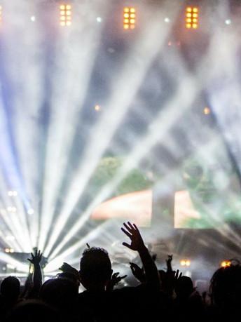 舞台燈光效果