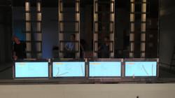 拼接電視牆顯示器施工