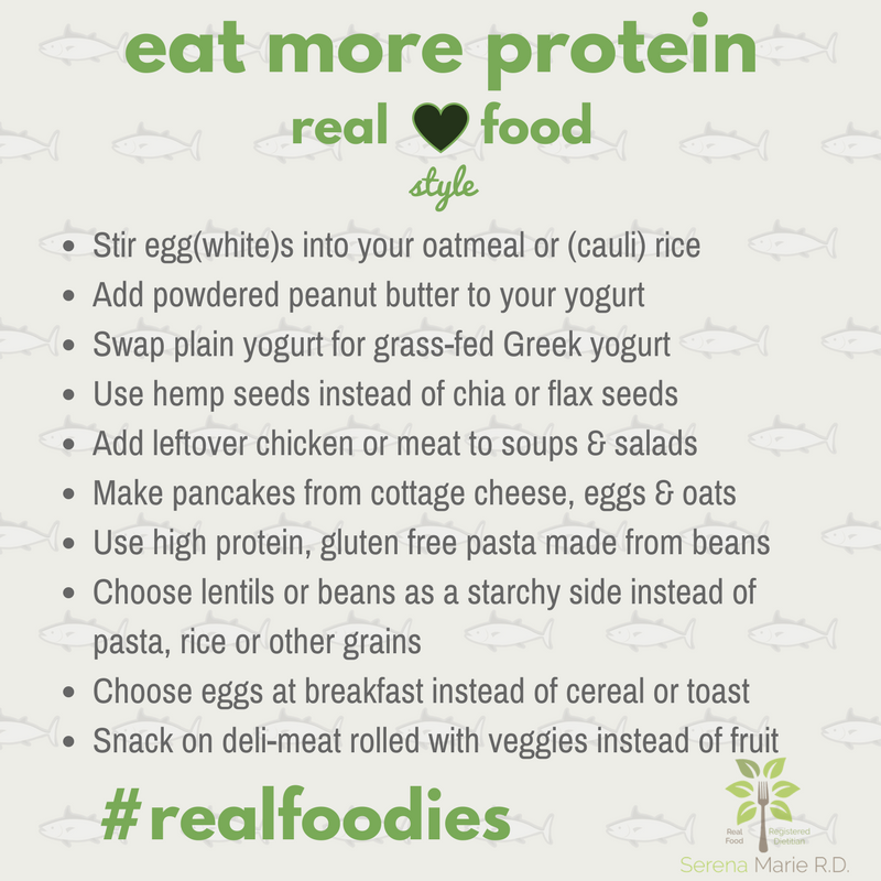 Real Food Protein Sources
