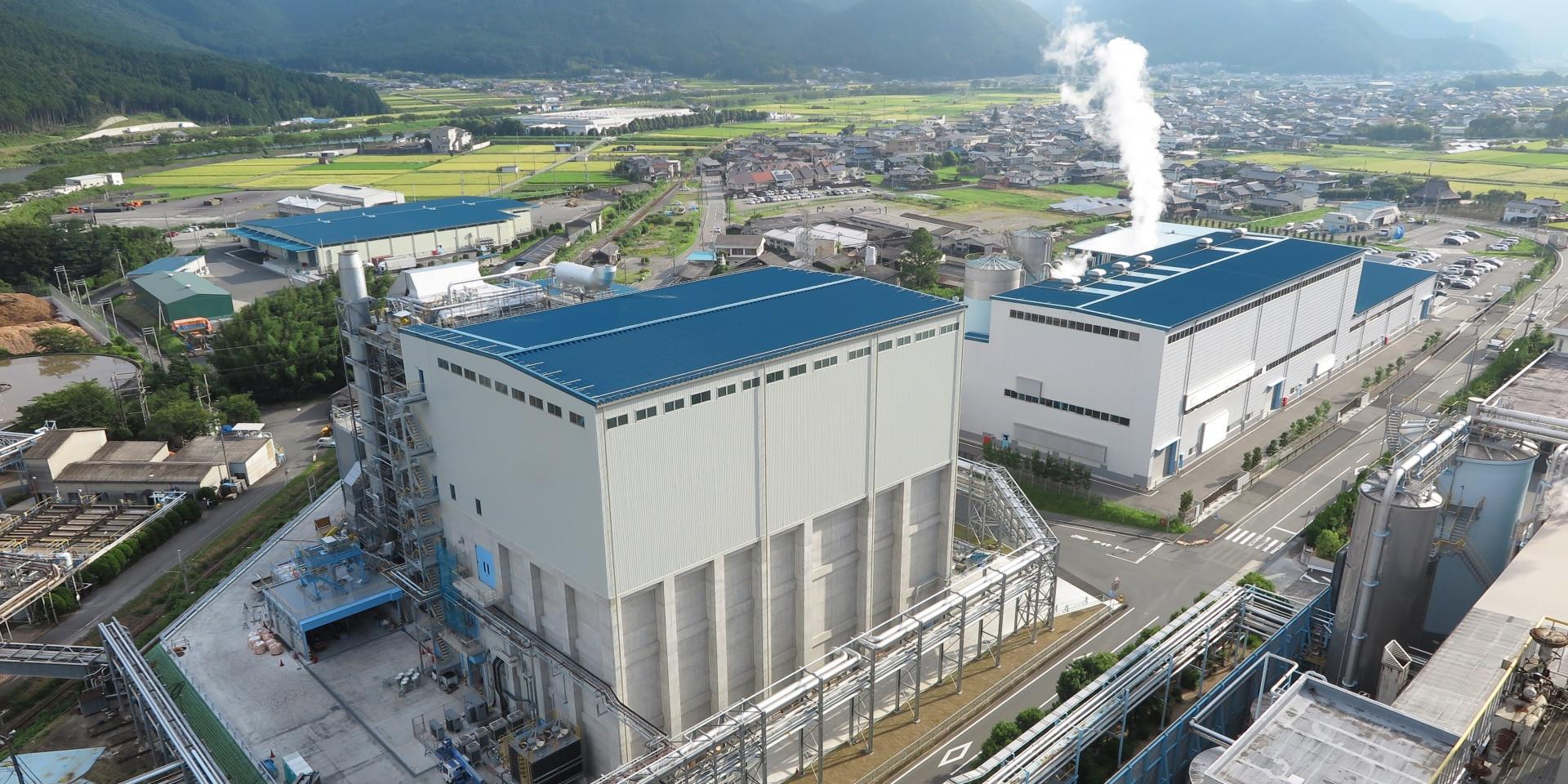 バイオマス発電施設/兵庫県